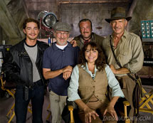 Indiana Jones et le Royaume du crâne de cristal  dans les films 2023